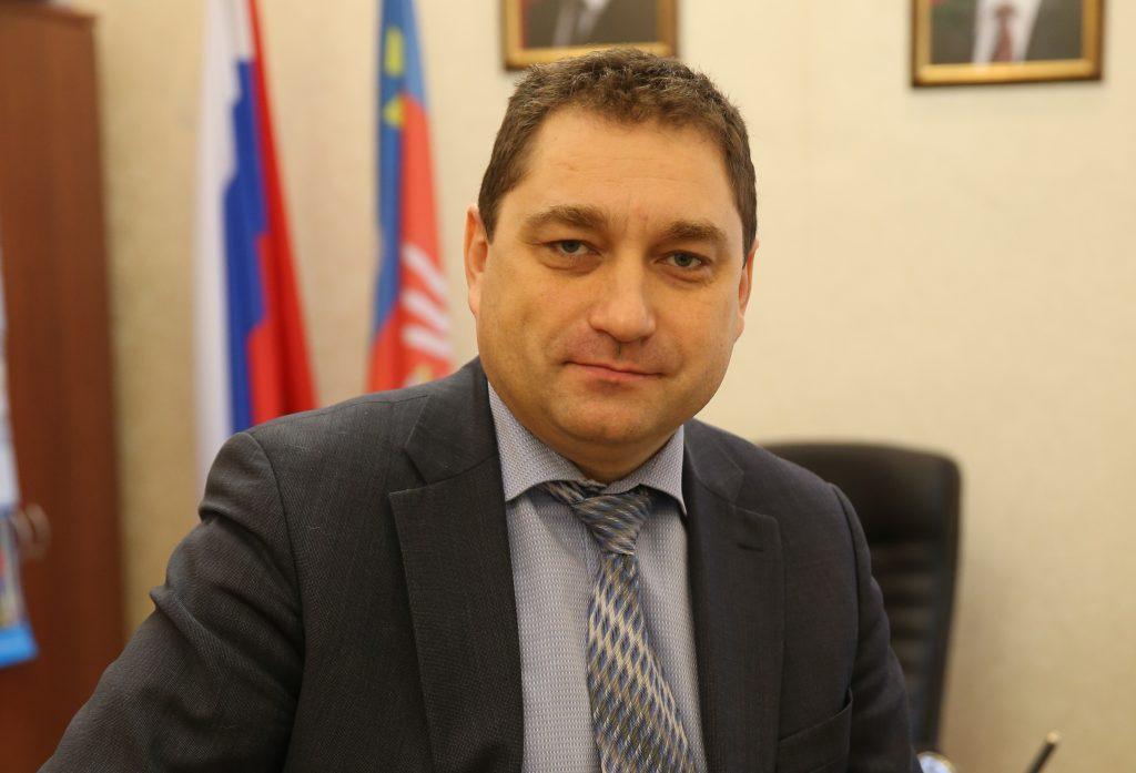 Глава администрации поселение Мосрентген Евгений Ермаков. Фото: Владимир Смоляков