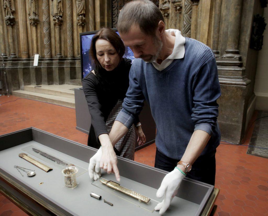 В Зарядье выставят археологические находки