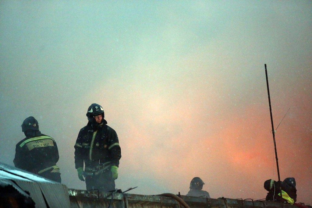 МЧС тушит 300-метровый пожар в Новой Москве