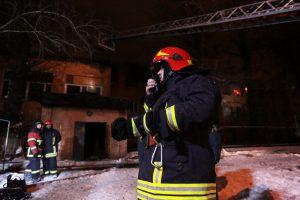 Пожар потушили на северо-западе Москвы