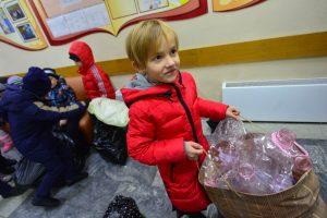 Дата: 21.09.2016, Время: 09:26  День пластиковой бутылки в школе САМБО-70