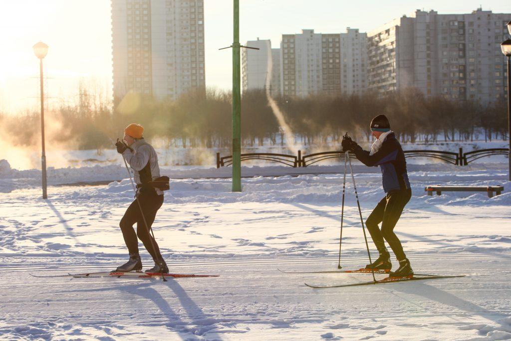 В Москве стартовал первый этап юбилейной лыжни