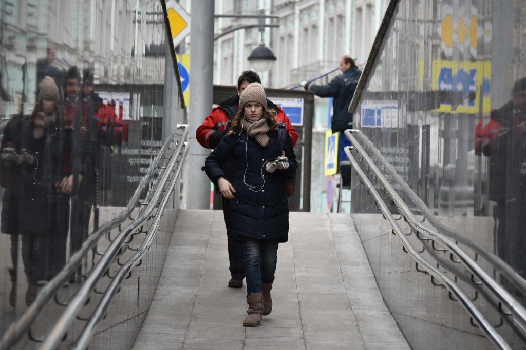 Весной на Калужском шоссе построят шесть пешеходных переходов
