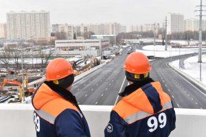 14 декабря 2015 Мэр Москвы Сергей Собянин открыл движение по участку Северо-Западной хорды