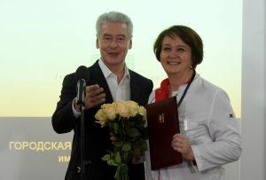 20 Февраля 2017 Мэр Москвы Сергей Собянин посетил ГКБ им. Давыдовского