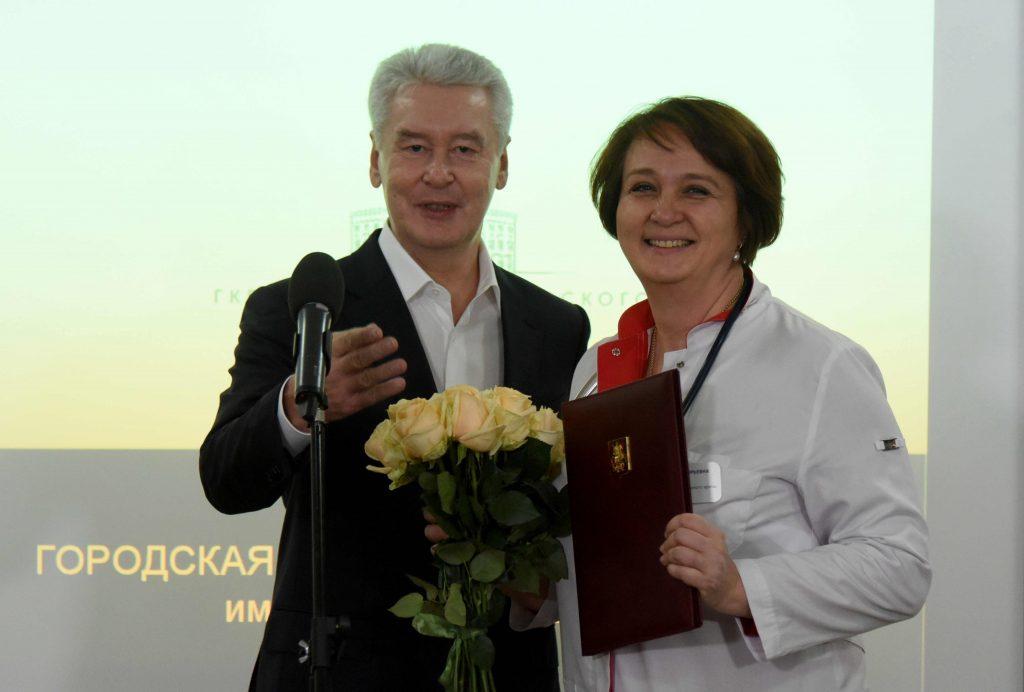 Собянин: Москва значительно продвинулась в лечении инфарктов