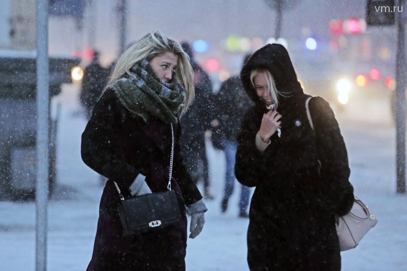 Прошедшая ночь в Москве стала самой холодной в феврале