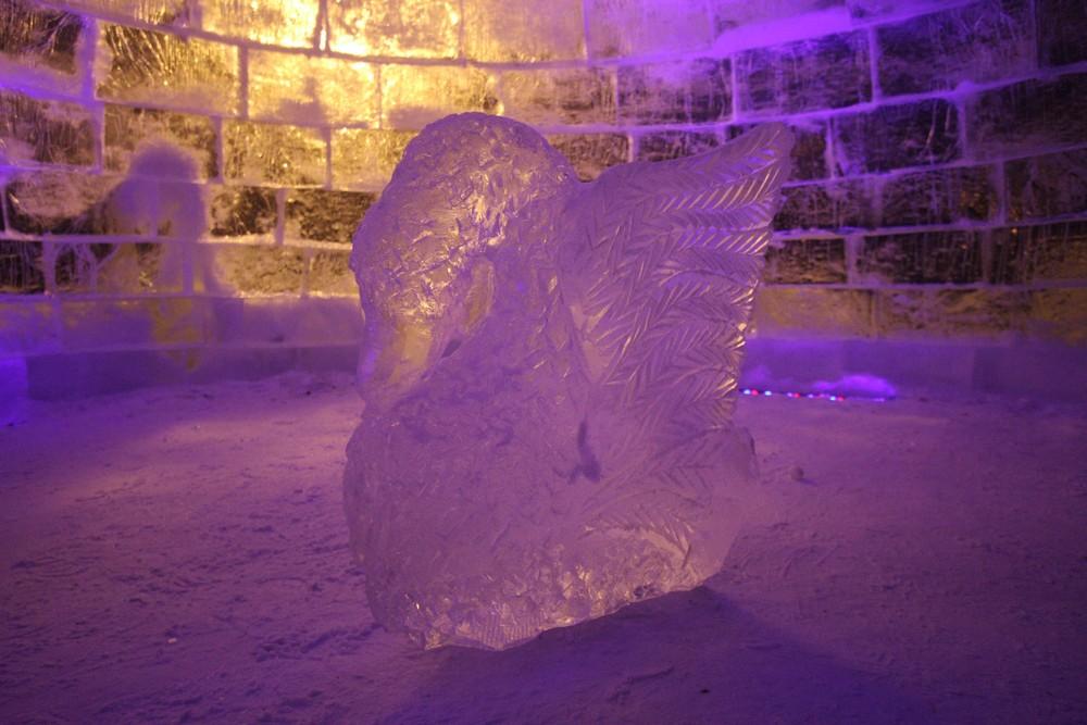 """Ледяные фигуры демонтируют в Сосенском. Фото: архив, """"Вечерняя Москва"""""""