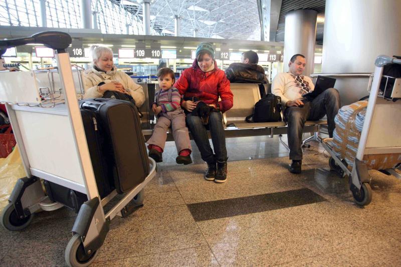Около 20 авиарейсов отменены и задержаны в Москве