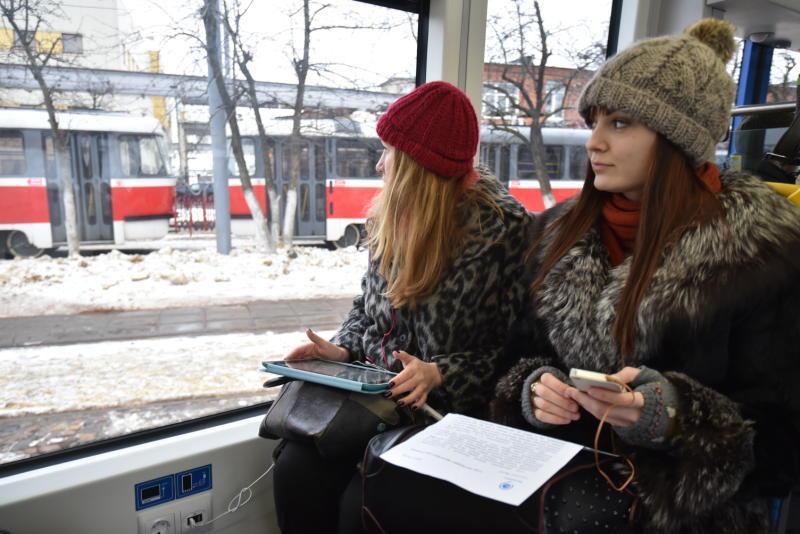 Движение трамваев на площадь Тверская застава вернут к осени