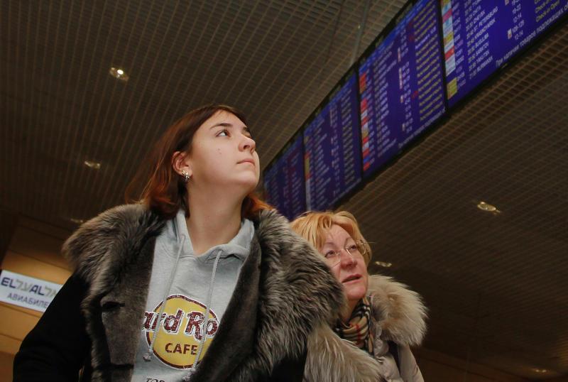 В аэропортах Москвы отменили и задержали  35 рейсов