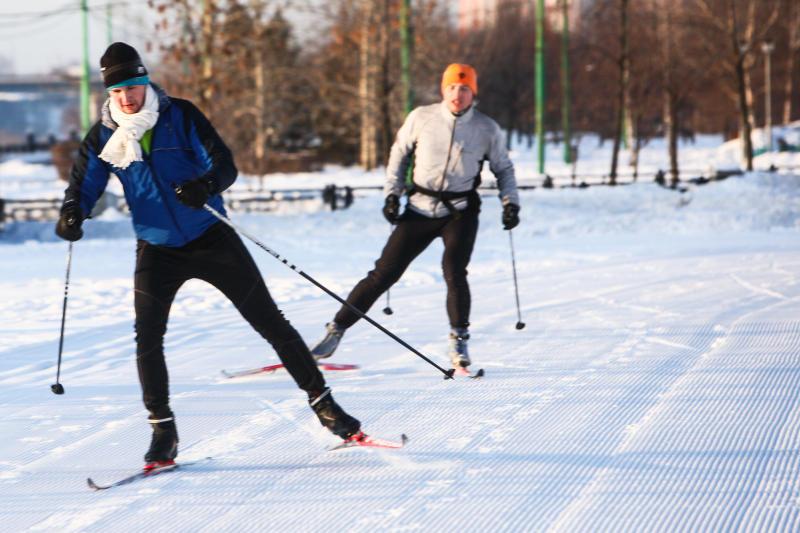 Второй этап лыжных соревнований пройдет в Вороновском