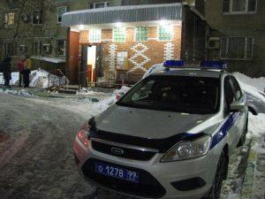 """Полиция разыскивает автомобиль. Фото: Игорь Цирульников, """"Вечерняя Москва"""""""