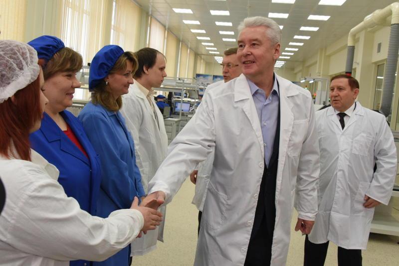 Собянин: Московская «оборонка» активно модернизирует производство