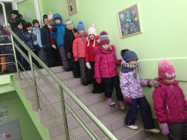 Дошкольники из Новофедоровского приняли участие в учебной эвакуации