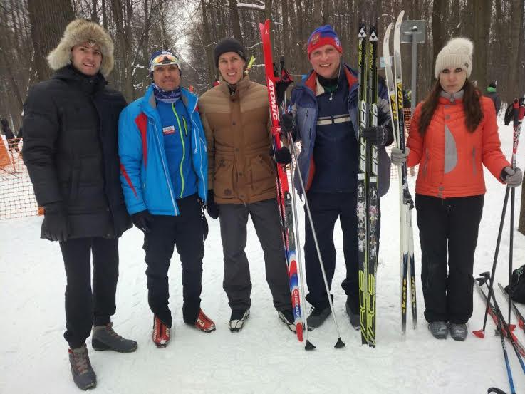 Пожарные и спасатели Новой Москвы стали призерами лыжных гонок