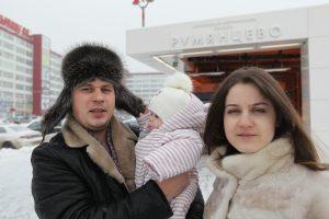 Февраль 2016 года Москва. Станции метро «Саларьево» и «Румянцево» построены из расчета на будущее. Фото Владимир Смоляков.