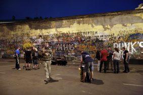 Видеокамеры установят рядом со стеной Цоя на Арбате