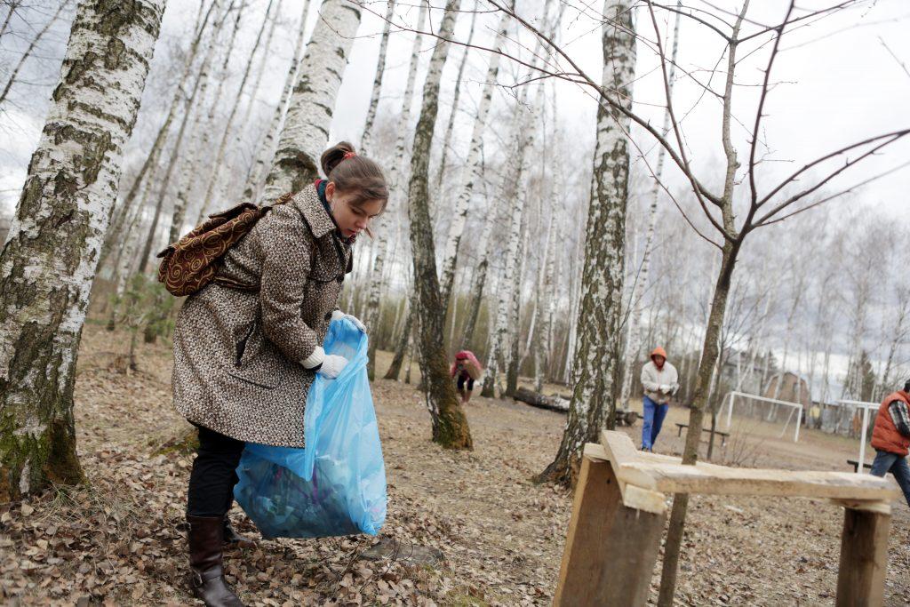 Субботники в парках Москвы пройдут на 75 площадках