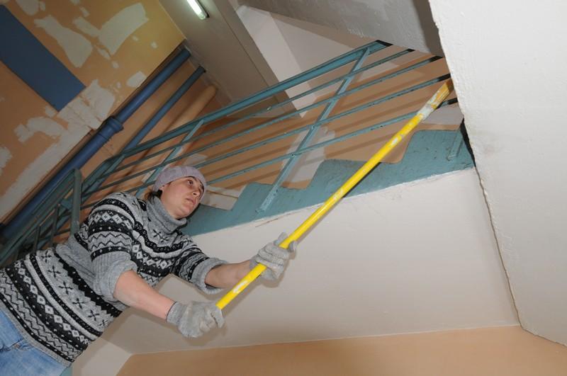 Капитальный ремонт пройдет в подъезде дома в Михайлово-Ярцевском