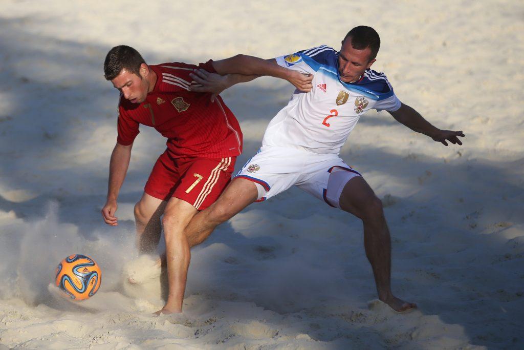Пляжник из Московского стал лучшим бомбардиром сборной России на международном турнире