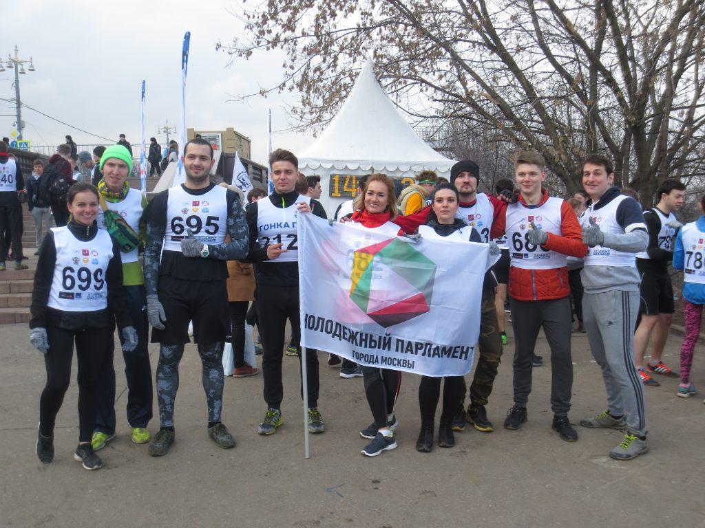 Молодые парламентарии Новой Москвы приняли участие в гонке «Путь домой»