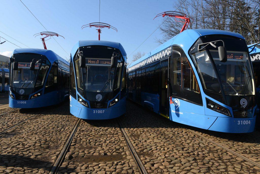 Более 50 километров трамвайных путей построят в Новой Москве до 2023 года. Фото: архив, «Вечерняя Москва»