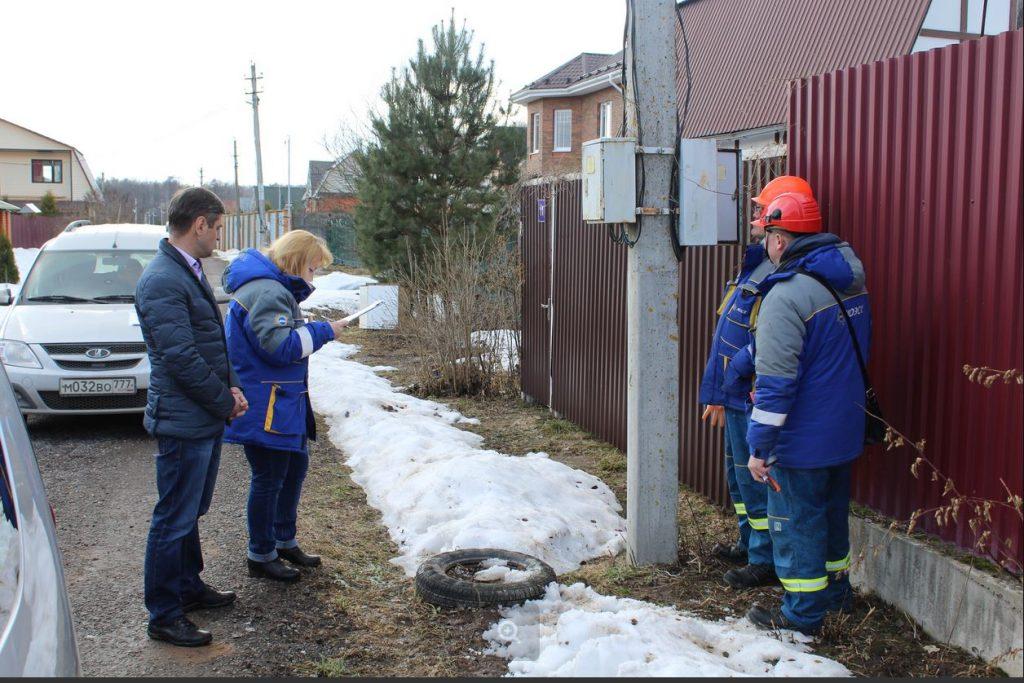 Энергетики МОЭСК провели рейд по выявлению незаконного потребления электрической энергии в Новой Москве