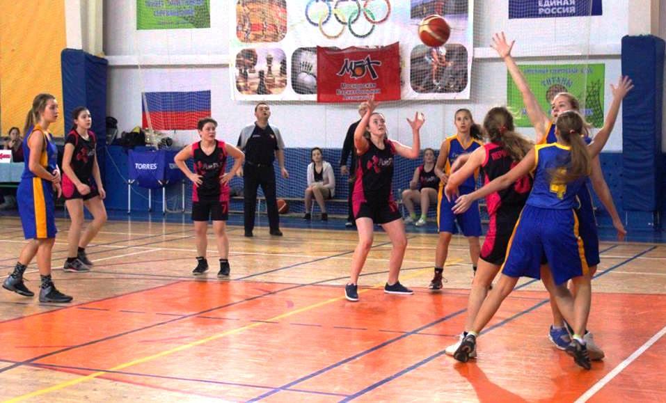 Баскетбольная команда школы №1391 вышла в финал Школьной лиги