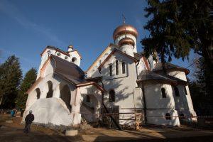 Новый храм сможет вмещать в себя порядка 300 прихожан в нижнем, и 700 – в верхнем приделе. Фото: Александра Харитонова