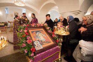 Первая служба прошла в новом Троицком храме. Фото: Александра Харитонова