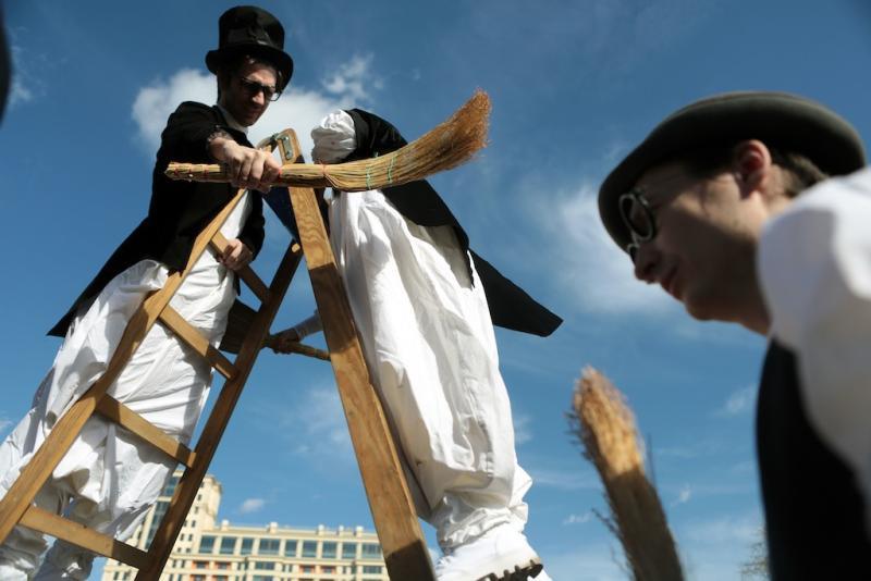 В парках Москвы стартует фестиваль «Ворвись в весну»