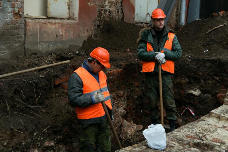 Археологи нашли тайную комнату в центре Москвы