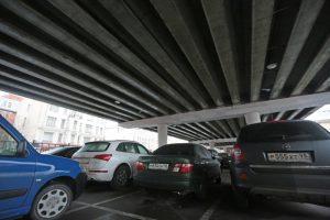 """Более тысячи парковок планируют построить в Вороновском. Фото: архив, """"Вечерняя Москва"""""""