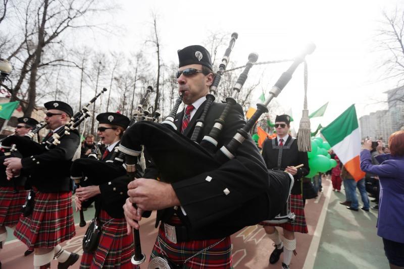 В Москве с размахом отметят День святого Патрика