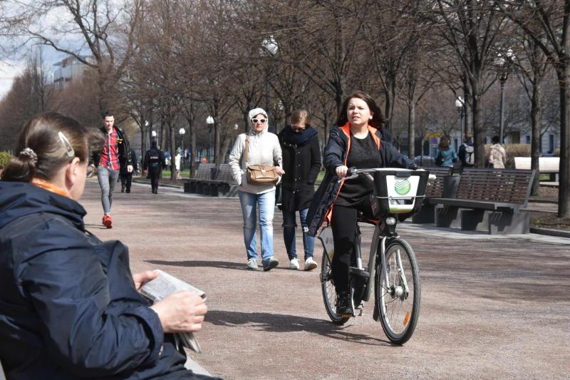 Сезон велопроката в Москве откроется в апреле