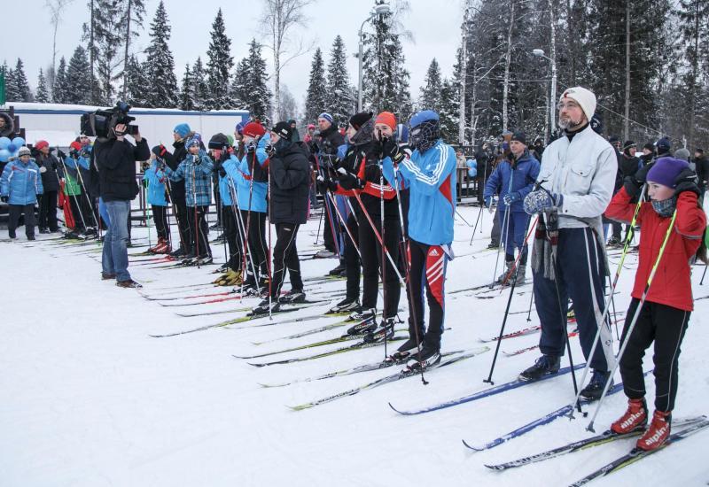 Сезон закрыт: заключительную гонку на лыжах провели на базе