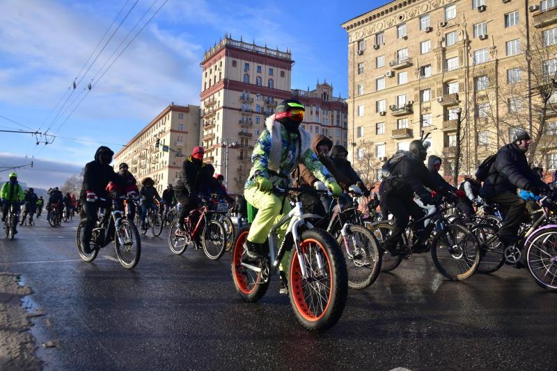 Очередной велопарад пройдет в Москве 28 мая