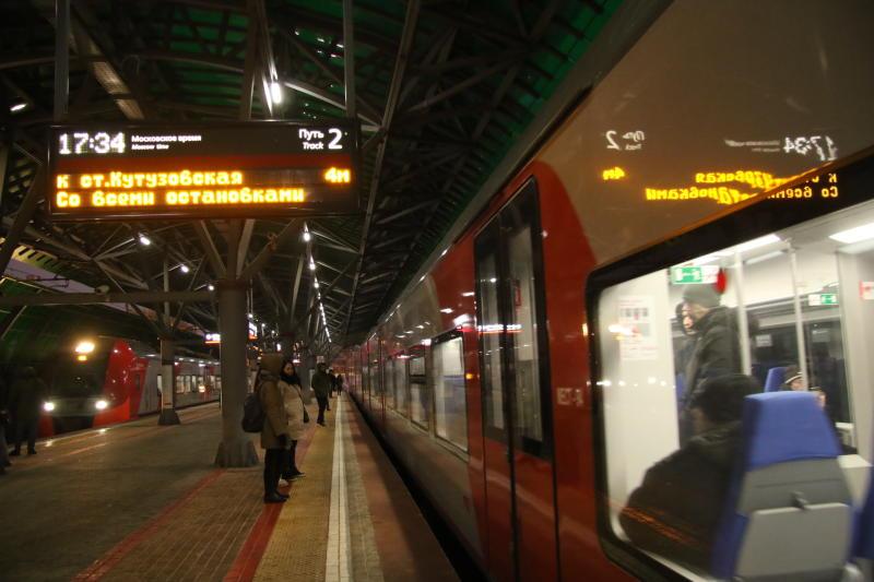 График движения поездов МЦК загрузят в приложение «Метро Москвы»