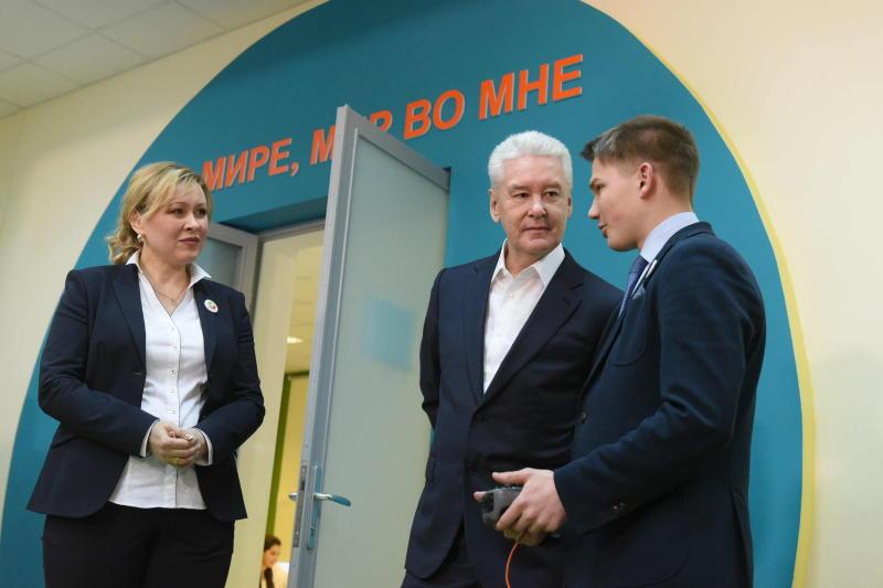 Собянин рассказал о мегапроекте профессиональной подготовки в школах