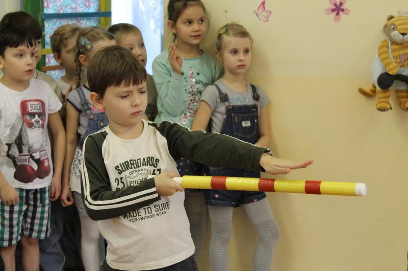 Городошному спорту стали обучать дошколят в школе №2075