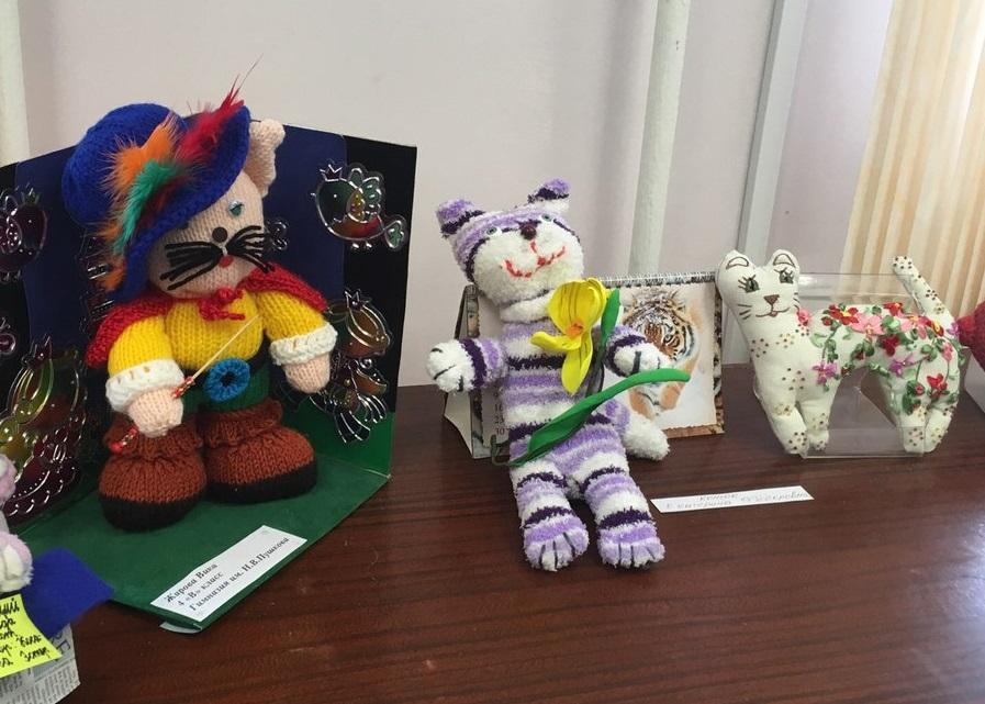 «Кошачья» выставка открылась в Троицке