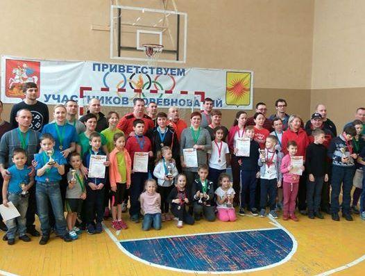 Спортивные семьи Новой Москвы приняли участие в эстафете