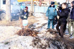 Спасатели проверили территории садовых товариществ. Фото: пресс-служба Управления МЧС по ТиНАО