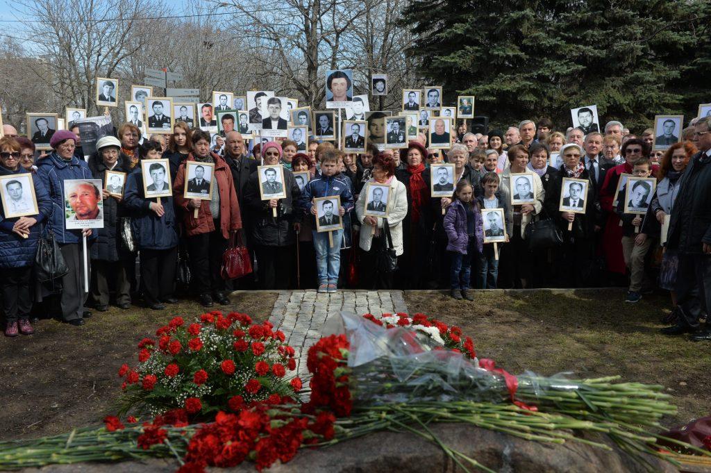 Подвиг ликвидаторов последствий аварии на Чернобыльской АЭС