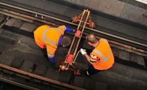 На «фиолетовой» ветке метро заменили свыше тысячи шпал