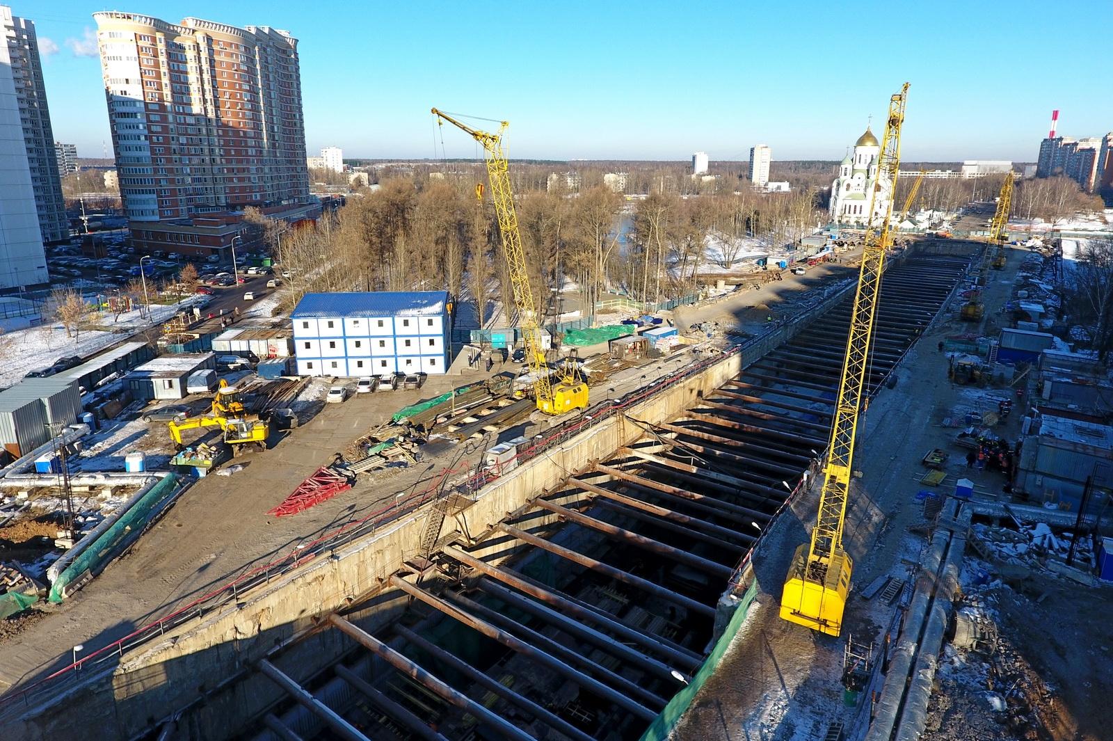 Строители завершили прокладку тоннеля между станциями «Говорово» и «Солнцево»
