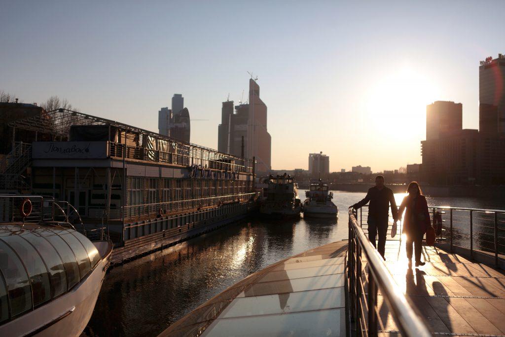 Летняя навигация для пассажиров открылась на Москве-реке