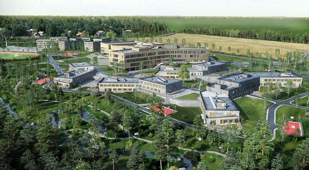 Архитектурный проект школы. Фото предоставлено пресс-службой МОЭСК.