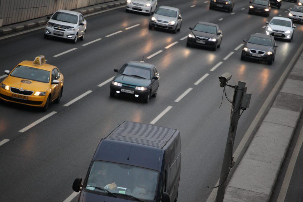 Система «Пит-стоп» начала «ловить» нарушителей скорости на дорогах Москвы